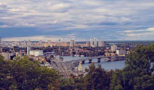 vue de kiev capitale ukraine