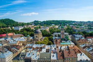 vue sur lviv ukraine